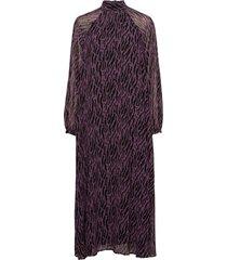 grace rosanna dress knälång klänning lila bruuns bazaar