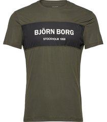 tee atos atos t-shirts long-sleeved grön björn borg