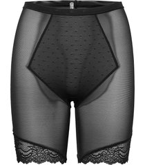 mid-thigh lingerie shapewear bottoms svart spanx