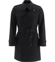 burberry kensington medium trench coat