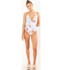 barts badpak women jones halter suit aqua-maat 40