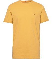 nørregaard t-shirt t-shirts short-sleeved gul les deux