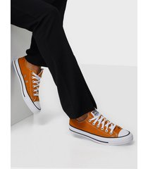 converse all star canvas ox low top saffron