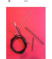 clutch cable kit for 49/66/80cc end clamp, springs engine motorized bicycle.