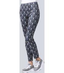broek alba moda grijs::taupe