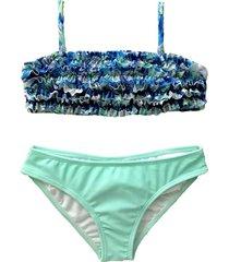 bikini azul brillantina camelia grande