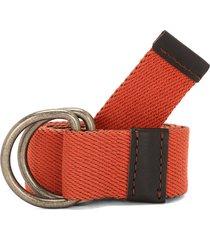 cinturón naranja-café colore
