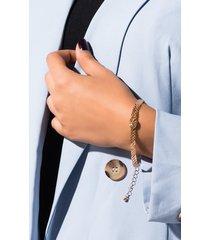 akira evil eye chain bracelet