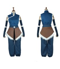 avatar the legend of korra korra cosplay costume full outfit
