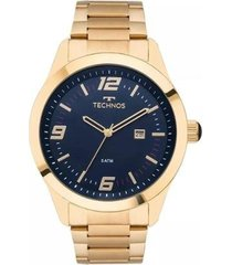 relógio masculino technos 2115mnz/4a aço