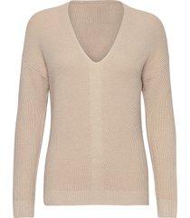 sweaters stickad tröja beige edc by esprit