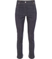 rokh jeans with flared hem