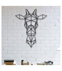 escultura de parede a laser girafa único