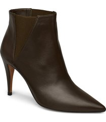 ap450 shoes boots ankle boots ankle boots with heel brun pura lopez