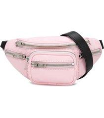 alexander wang pochete com bolsos - rosa