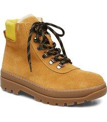 hiker boot 6724 shoes boots ankle boots ankle boots flat heel gul samsøe samsøe