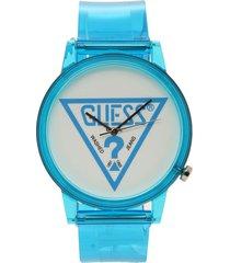 reloj azul guess