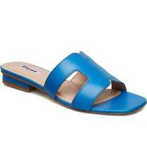 loupe shoes summer shoes flat sandals blå dune london