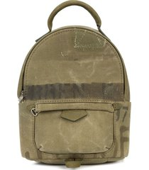 readymade army style mini backpack - green