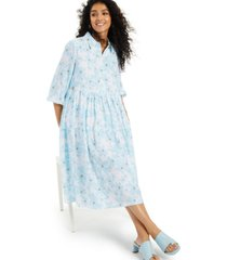 alfani printed tiered midi dress, created for macy's