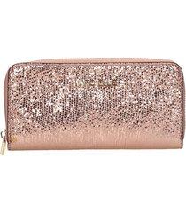 marc ellis jenny wallet in copper leather
