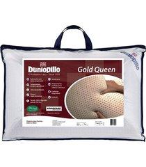 travesseiro copespuma dunlopillo queen gold látex 50x70 cm