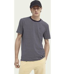 scotch & soda klassiek gestreept t-shirt