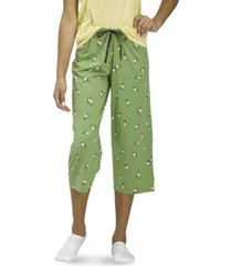 women's lemon jade classic pajama capri