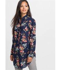 lange blouse van licht katoen