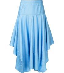 stella mccartney poppy skirt - blue