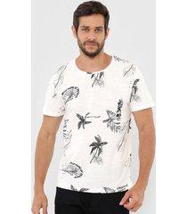 camiseta jack & jones cloud off-white
