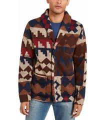 levi's men's western cardigan sweater