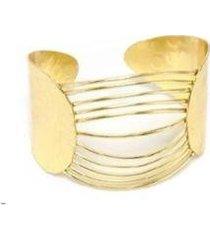 bracelete vestopazzo arcos no meio feminino - feminino