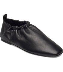 rouched slipper ballerinaskor ballerinas svart 3.1 phillip lim