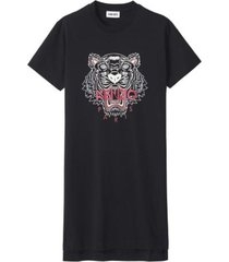 t-shirt dress with tiger