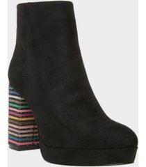 betsey johnson women's downie platform booties women's shoes