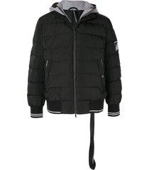 blackbarrett padded hoodie