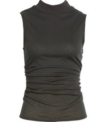 women's chelsea28 ruched mock neck tank