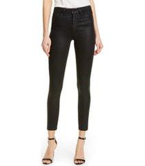 women's l'agence coated high waist skinny jeans