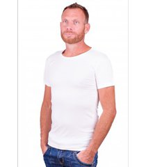 alan red t-shirt no-o white ( two pack )