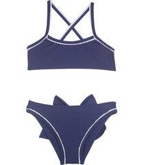 bikini azul mare moda nena victoria