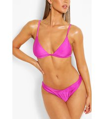 mix & match itsy bitsy bikini top, purple