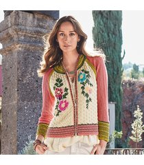 beyond blooms cardigan sweater