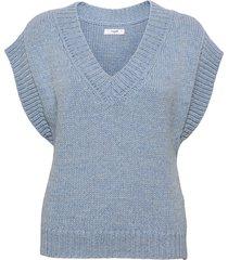 vea waistcoat vests knitted vests blå lovechild 1979
