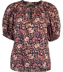 evie floral blouse