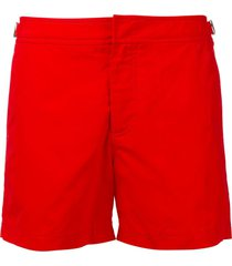 orlebar brown 'setter' swim shorts - red