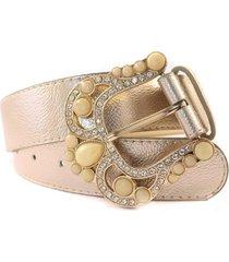 cinturón dorado almacén de parís