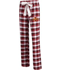concepts sport women's iowa state cyclones piedmont flannel pajama pants
