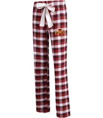 concepts sport women's iowa state cyclones piedmont flannel pajama pants