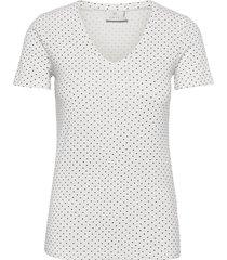 kaemmery t-shirt t-shirts & tops short-sleeved vit kaffe